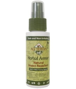 ALL TERRAIN, HERBAL ARMOR, INSECT REPELLANT DEET-FREE PUMP SPRAY, 2.0 FL OZ / 60ml