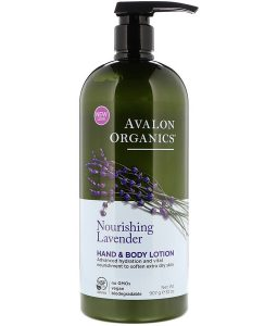 AVALON ORGANICS, HAND & BODY LOTION, NOURISHING LAVENDER, 32 OZ / 907g