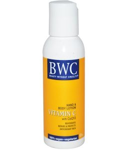 BEAUTY WITHOUT CRUELTY, VITAMIN C, WITH COQ10, HAND & BODY LOTION, 2 FL OZ / 59ml