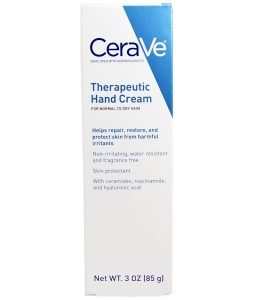 CERAVE, THERAPEUTIC HAND CREAM, 3 OZ / 85g