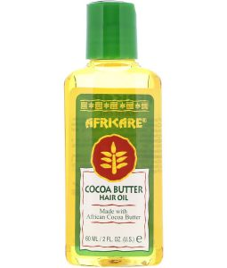COCOCARE, AFRICARE, COCOA BUTTER HAIR OIL, 2 FL OZ / 60ml