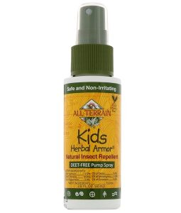 ALL TERRAIN, KIDS HERBAL ARMOR, NATURAL INSECT REPELLENT, 2.0 FL OZ / 60ml