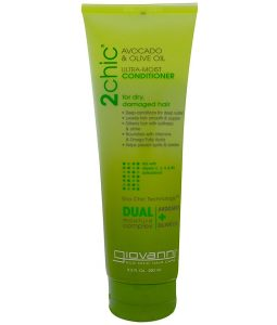 GIOVANNI, ULTRA-MOIST CONDITIONER, FOR DRY, DAMAGED HAIR, AVOCADO & OLIVE OIL, 8.5 FL OZ / 250ml