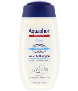 AQUAPHOR, BABY, WASH AND SHAMPOO, FRAGRANCE FREE, 8.4 FL OZ / 250ml