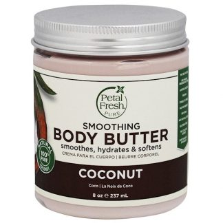 PETAL FRESH, PURE, BODY BUTTER, ULTRA MOISTURIZING, COCONUT, 8 OZ / 237ml