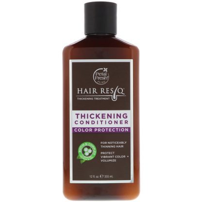 PETAL FRESH, HAIR RESCUE, THICKENING TREATMENT CONDITIONER, COLOR PROTECTION, 12 FL OZ / 355ml