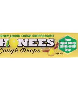 HONEES, HONEY LEMON COUGH DROPS , 9 DROPS