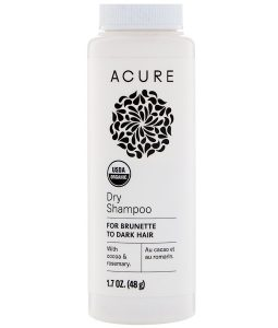 ACURE, DRY SHAMPOO, FOR BRUNETTE TO DARK HAIR, 1.7 OZ / 48g