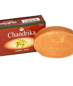 CHANDRIKA SOAP, CHANDRIKA, SANDAL SOAP, 1 BAR, (75g