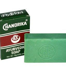 CHANDRIKA SOAP, CHANDRIKA, AYURVEDIC SOAP, 1 BAR, 2.64 OZ / 75g