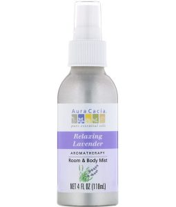AURA CACIA, AROMATHERAPY ROOM & BODY MIST, RELAXING LAVENDER, 4 FL OZ / 118ml