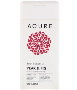 ACURE, BODY BEAUTIFUL SHAMPOO, PEAR & FIG, 12 FL OZ / 354ml