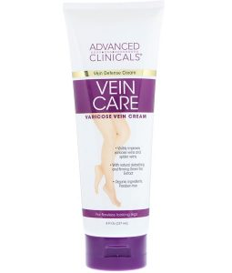 ADVANCED CLINICALS, VEIN CARE, VARICOSE VEIN CREAM, 8 FL OZ / 237ml