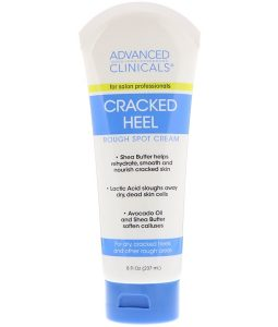 ADVANCED CLINICALS, CRACKED HEEL, ROUGH SPOT CREAM, 8 FL OZ / 237ml