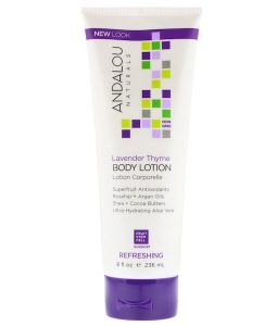 ANDALOU NATURALS, BODY LOTION, UPLIFTING, LAVENDER THYME, 8 FL OZ / 236ml