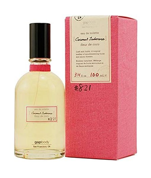GAP COCONUT TUBEROSE 821 EDT FOR WOMEN