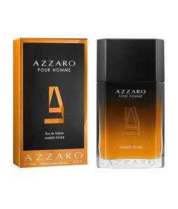 AZZARO AMBER FEVER POUR HOMME EDT FOR MEN