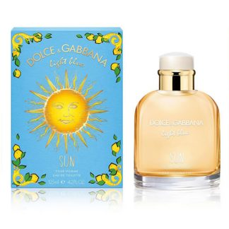 DOLCE AND GABBANA D&G LIGHT BLUE SUN POUR HOMME EDT FOR MEN