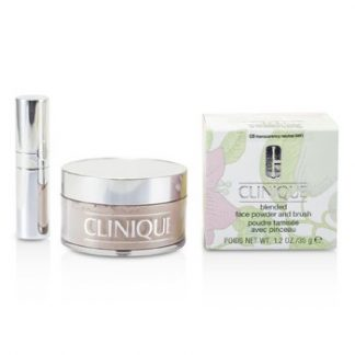 CLINIQUE BLENDED FACE POWDER + BRUSH - NO. 08 TRANSPARENCY NEUTRAL  35G/1.2OZ