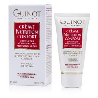 GUINOT CONTINUOUS NOURISHING & PROTECTION CREAM (FOR DRY SKIN)  50ML/1.7OZ