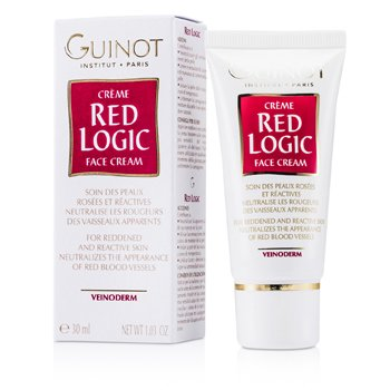GUINOT RED LOGIC FACE CREAM FOR REDDENED & REACTIVE SKIN  30ML/1.03OZ