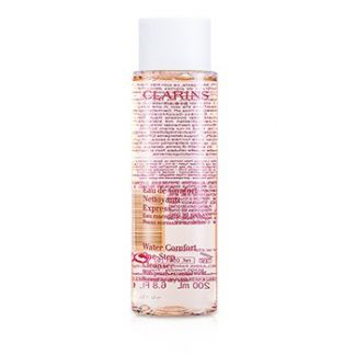 CLARINS WATER COMFORT ONE-STEP CLEANSER WITH PEACH ESSENTIAL WATER - FOR NORMAL OR DRY SKIN  200ML/6.8OZ