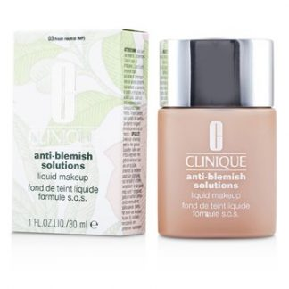 CLINIQUE ANTI BLEMISH SOLUTIONS LIQUID MAKEUP - # 03 FRESH NEUTRAL  30ML/1OZ