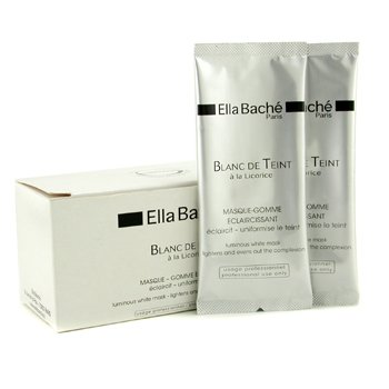 ELLA BACHE LUMINOUS WHITE MASK (SALON SIZE)  5X6G/0.21OZ