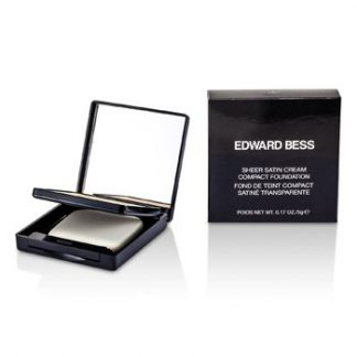 EDWARD BESS SHEER SATIN CREAM COMPACT FOUNDATION - #01 LIGHT  5G/0.17OZ