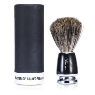 BAXTER OF CALIFORNIA BEST-BADGER SHAVE BRUSH (BLACK)  1PC