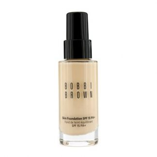 BOBBI BROWN SKIN FOUNDATION SPF 15 - # 1 WARM IVORY  30ML/1OZ