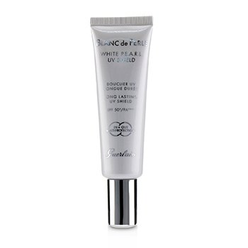 GUERLAIN BLANC DE PERLE UV SHIELD BRIGHTENING PEARL PERFECTION SPF50/PA+++ (NEW PACKAGING)  30ML/1OZ