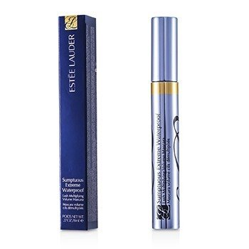ESTEE LAUDER SUMPTUOUS EXTREME WATERPROOF LASH MULTIPLYING VOLUME MASCARA - # 01 EXTREME BLACK  8ML/0.27OZ