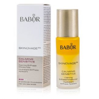 BABOR SKINOVAGE PX CALMING SENSITIVE CALMING BI-PHASE MOISTURIZER (FOR SENSITIVE SKIN)  30ML/1OZ