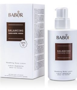 BABOR BALANCING CASHMERE WOOD - SOOTHING BODY LOTION  200ML/6.7OZ