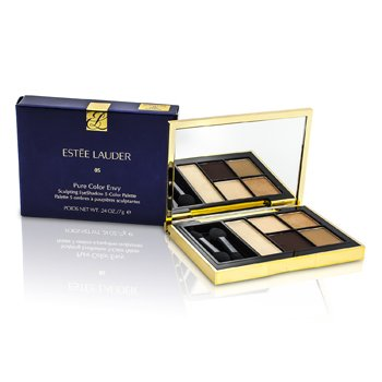 ESTEE LAUDER PURE COLOR ENVY SCULPTING EYESHADOW 5 COLOR PALETTE - 05 FIERY SAFFRON  7G/0.24OZ