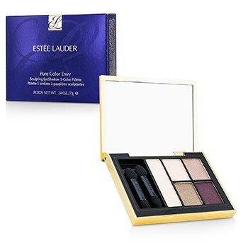 ESTEE LAUDER PURE COLOR ENVY SCULPTING EYESHADOW 5 COLOR PALETTE - 06 CURRANT DESIRE  7G/0.24OZ