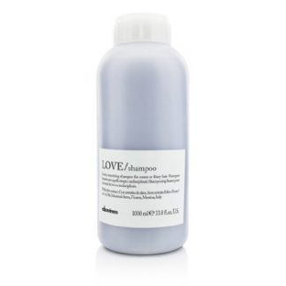 DAVINES LOVE SHAMPOO (LOVELY SMOOTHING SHAMPOO FOR COARSE OR FRIZZY HAIR)  1000ML/33.8OZ