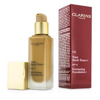 CLARINS EVERLASTING FOUNDATION+ SPF15 - # 115 COGNAC  30ML/1.2OZ