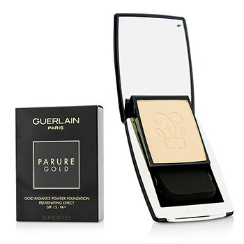 GUERLAIN PARURE GOLD REJUVENATING GOLD RADIANCE POWDER FOUNDATION SPF 15 - # 01 BEIGE PALE  10G/0.35OZ