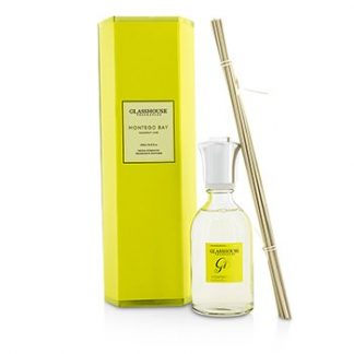 GLASSHOUSE TRIPLE STRENGTH FRAGRANCE DIFFUSER - MONTEGO BAY (COCONUT LIME)  250ML/8.45OZ