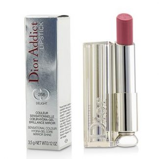 CHRISTIAN DIOR DIOR ADDICT HYDRA GEL CORE MIRROR SHINE LIPSTICK - #266 DELIGHT  3.5G/0.12OZ