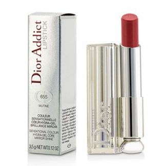 CHRISTIAN DIOR DIOR ADDICT HYDRA GEL CORE MIRROR SHINE LIPSTICK - #655 MUTINE  3.5G/0.12OZ