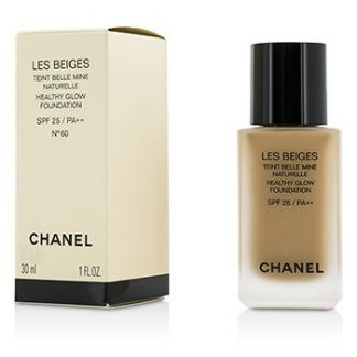 CHANEL LES BEIGES HEALTHY GLOW FOUNDATION SPF 25 - NO. 60  30ML/1OZ