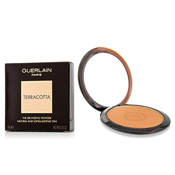 GUERLAIN TERRACOTTA THE BRONZING POWDER (NATURAL & LONG LASTING TAN) - NO. 04 MEDIUM BLONDES  10G/0.35OZ