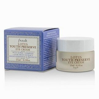 FRESH LOTUS YOUTH PRESERVE EYE CREAM  15ML/0.5OZ