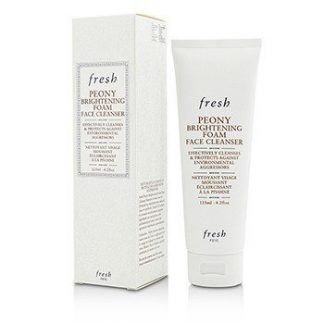 FRESH PEONY BRIGHTENING FOAM FACE CLEANSER  125ML/4.2OZ