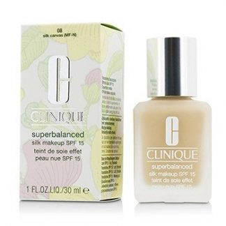 CLINIQUE SUPERBALANCED SILK MAKEUP SPF 15 - # 08 SILK CANVAS (MF-N)  30ML/1OZ