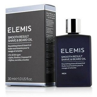 ELEMIS SMOOTH RESULT SHAVE & BEARD OIL  30ML/1OZ