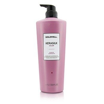 GOLDWELL KERASILK COLOR SHAMPOO (FOR COLOR-TREATED HAIR)  1000ML/33.8OZ